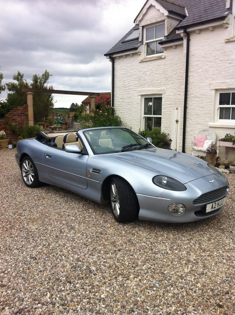 2002 Aston Martin DB7 Vantage Volante For Sale (picture 2 of 6)