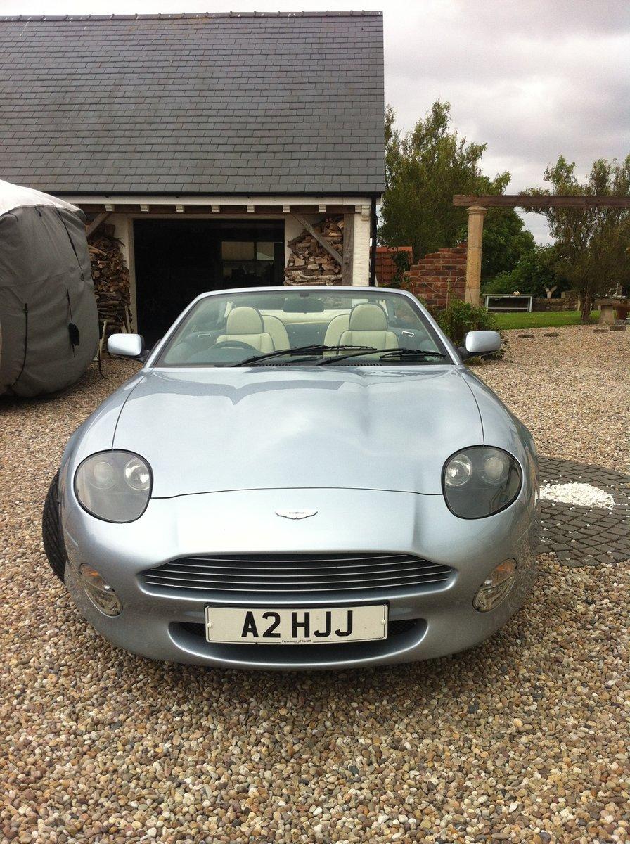 2002 Aston Martin DB7 Vantage Volante For Sale (picture 3 of 6)