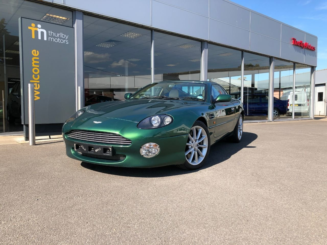 2000 Aston Martin DB7 Vantage SOLD (picture 1 of 6)