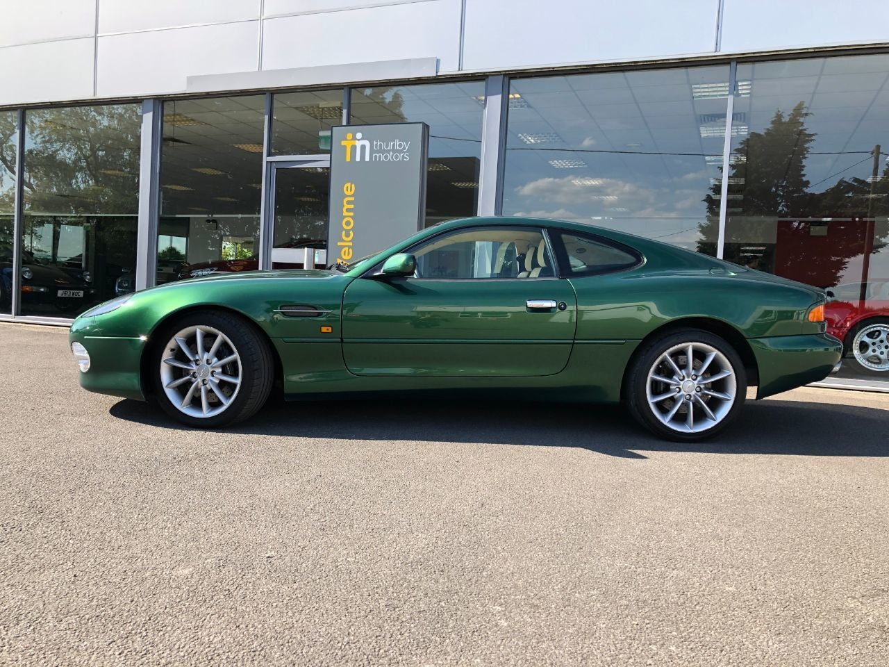 2000 Aston Martin DB7 Vantage SOLD (picture 4 of 6)
