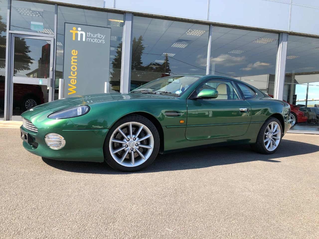 2000 Aston Martin DB7 Vantage SOLD (picture 5 of 6)