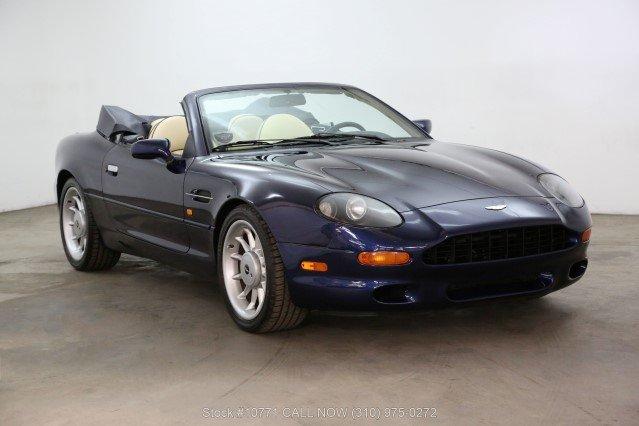 1998 Aston Martin DB7 Volante Convertible For Sale (picture 1 of 6)