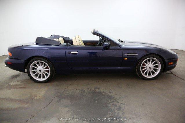 1998 Aston Martin DB7 Volante Convertible For Sale (picture 2 of 6)