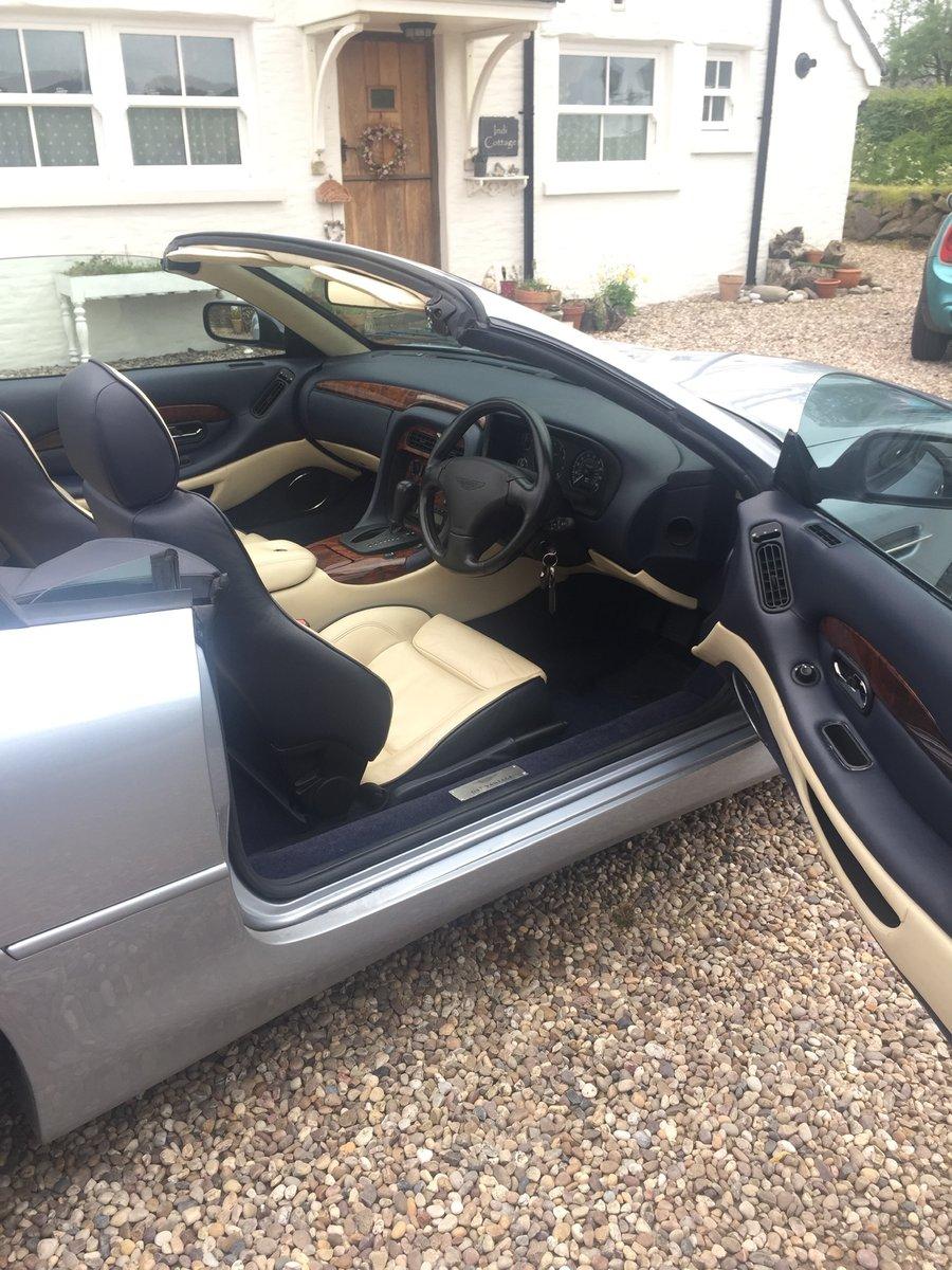 2002 Aston Martin DB7 Vantage Volante For Sale (picture 5 of 6)