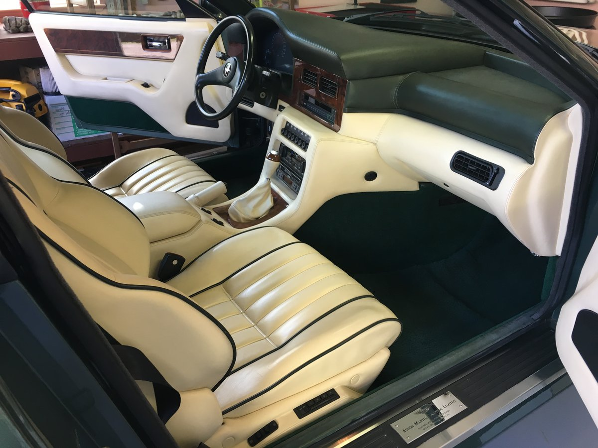 1991 Aston Martin Virage Coupe For Sale (picture 4 of 6)