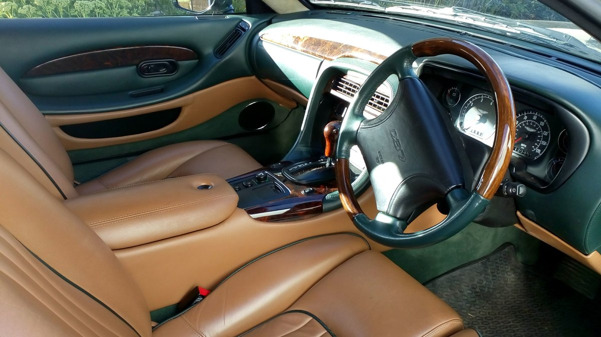 1998 Aston Martin 3.2 coupe. Low mileage For Sale (picture 3 of 6)