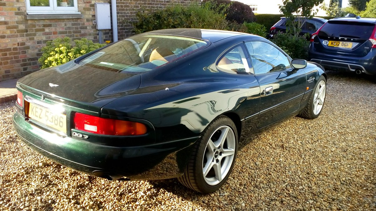 1998 Aston Martin 3.2 coupe. Low mileage For Sale (picture 4 of 6)