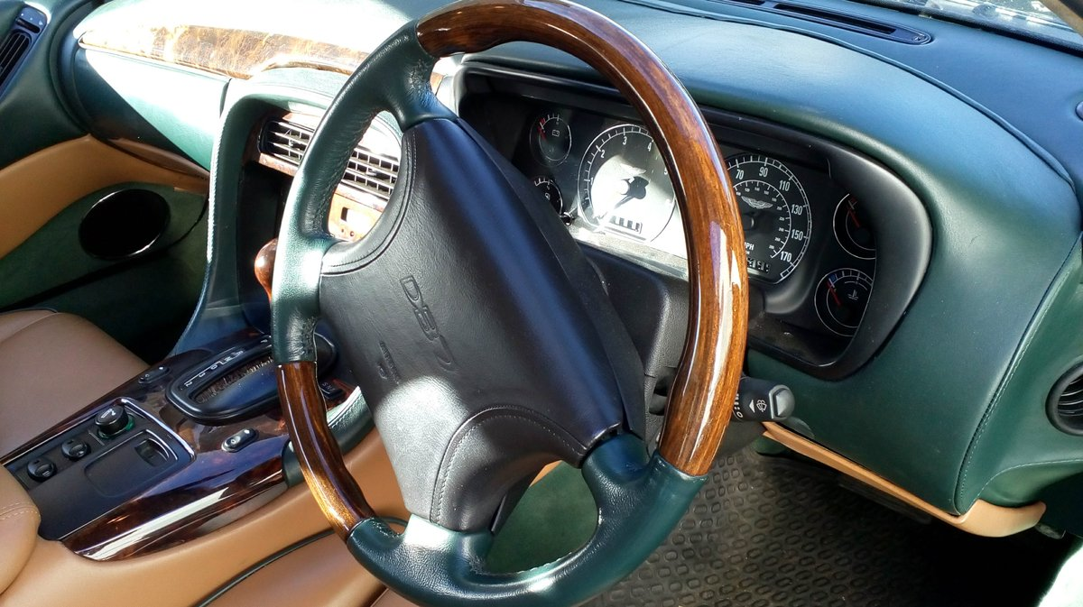1998 Aston Martin 3.2 coupe. Low mileage For Sale (picture 5 of 6)