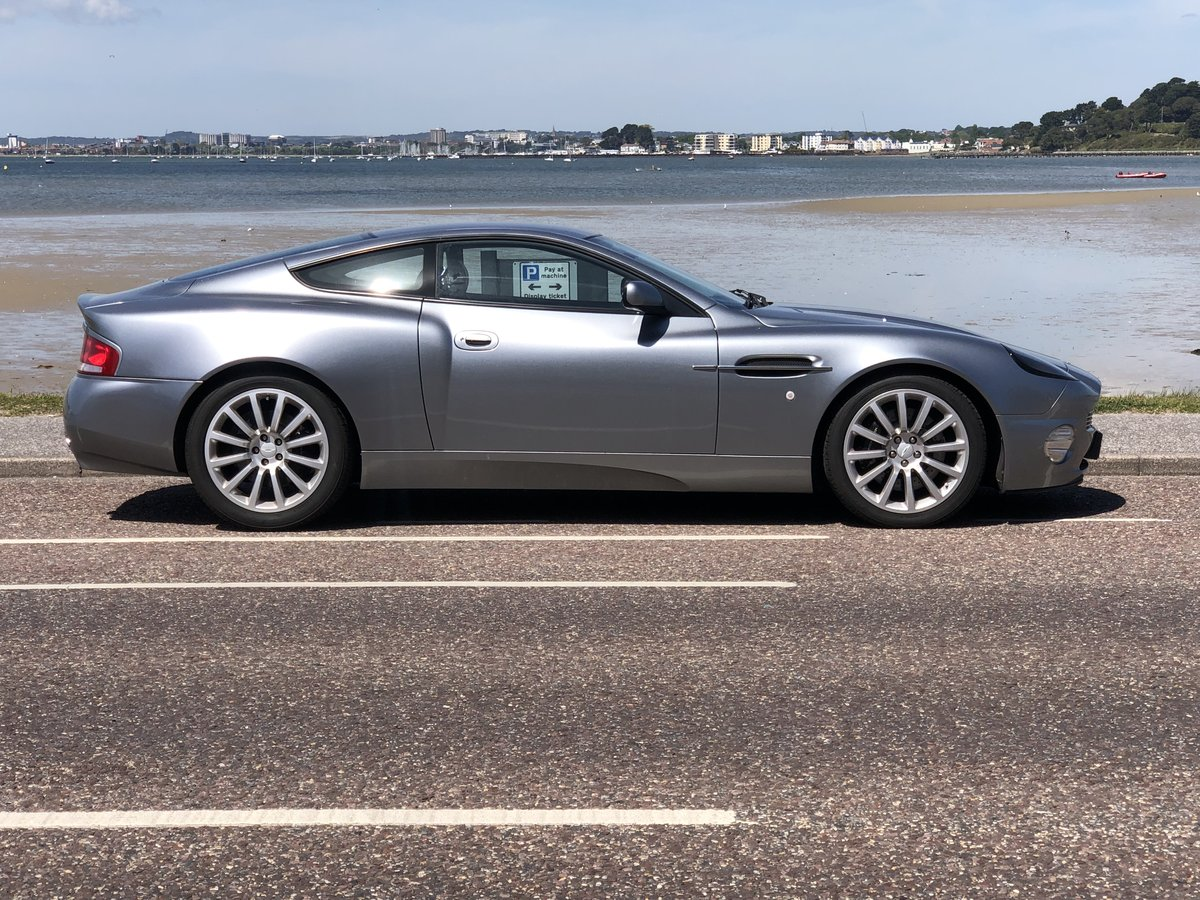 2004 Aston Martin Vanquish V12 Immaculate For Sale (picture 1 of 6)
