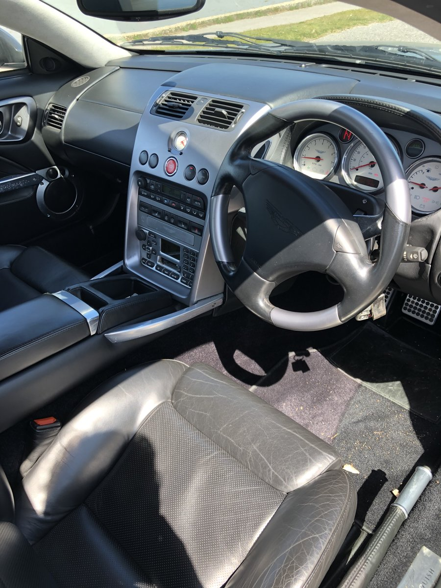 2004 Aston Martin Vanquish V12 Immaculate For Sale (picture 3 of 6)