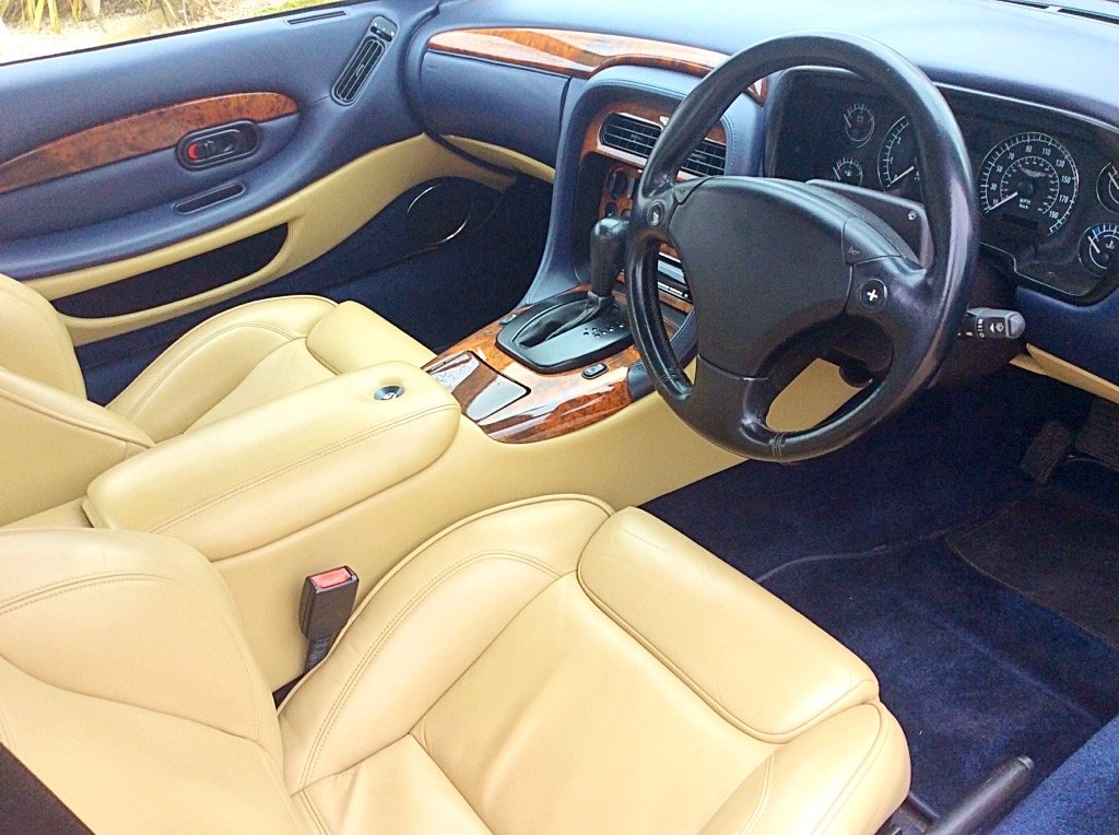 2001 ASTON MARTIN DB7 V12 VANTAGE AUTO/TIP - POSS PX For Sale (picture 5 of 6)