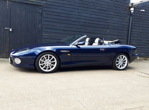 2001 ASTON MARTIN DB7 5.9 V12 VANTAGE VOLANTE 1 Owner,Low Mileage