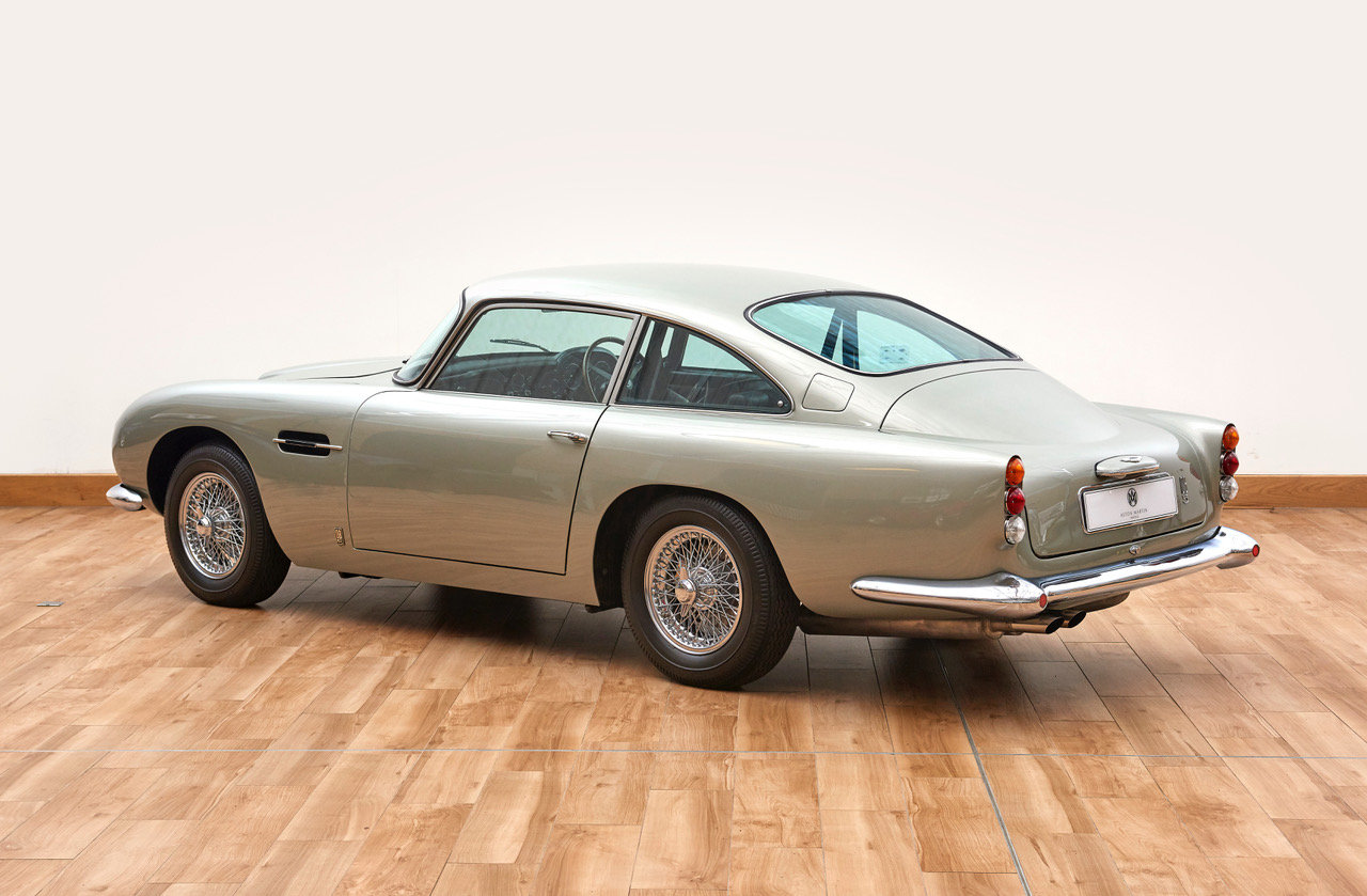 1964 Aston Martin DB5 Vantage Saloon For Sale (picture 2 of 6)