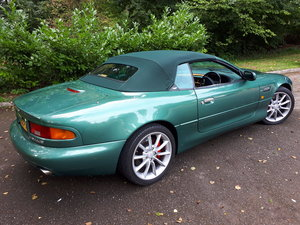 2002 ASTON MARTIN DB7 VANTAGE VOLANTE For Sale