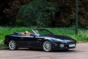2001 - Aston Martin DB7 Vantage Volante SOLD by Auction