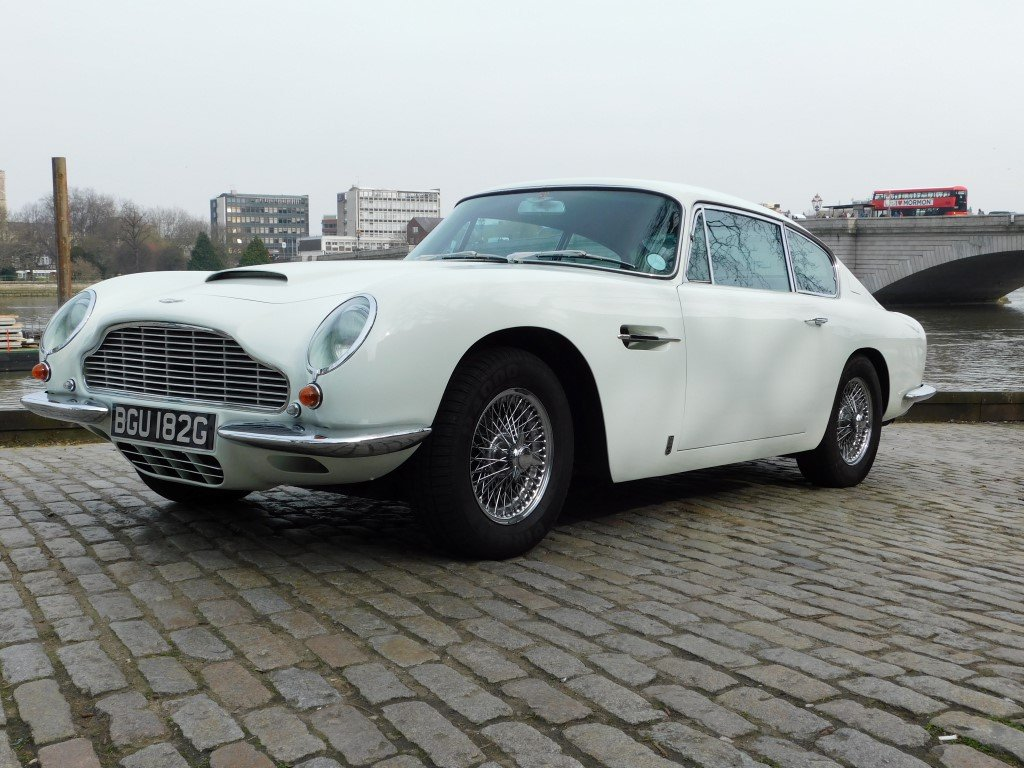 1969 Aston Martin DB6 Vantage RHD For Sale (picture 1 of 5)