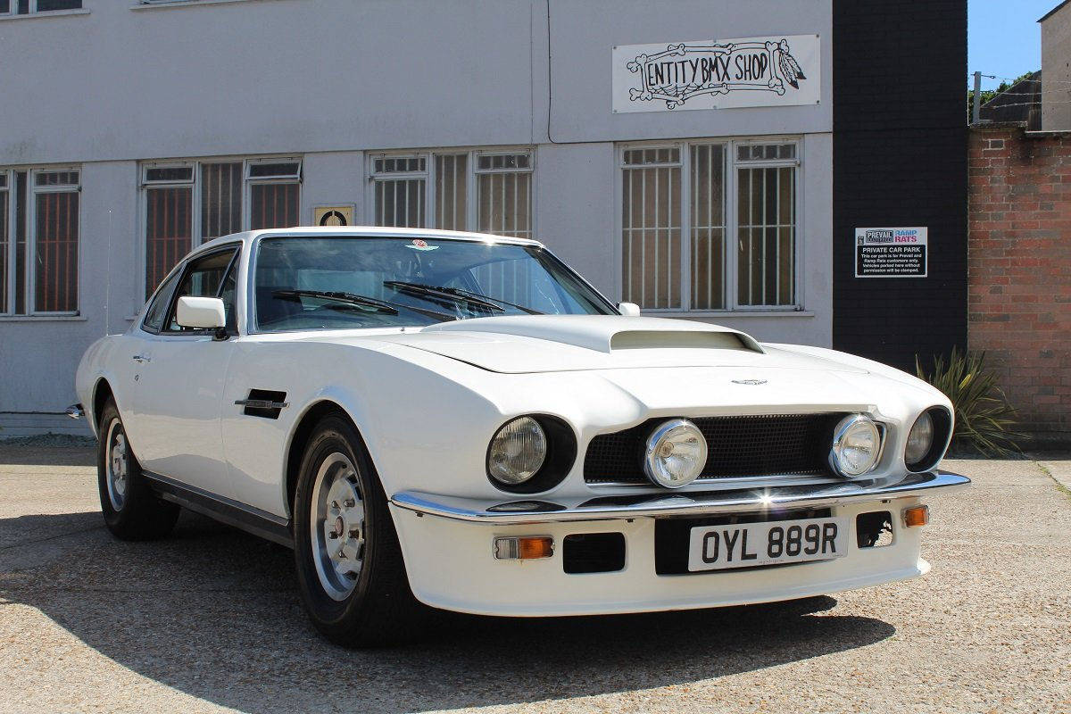 Aston Martin V8 Auto 1976 - To be auctioned 26-07-19 For Sale by Auction (picture 1 of 6)