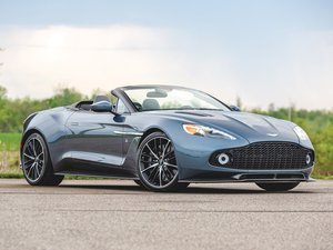 2018 Aston Martin Vanquish Volante Zagato For Sale by Auction