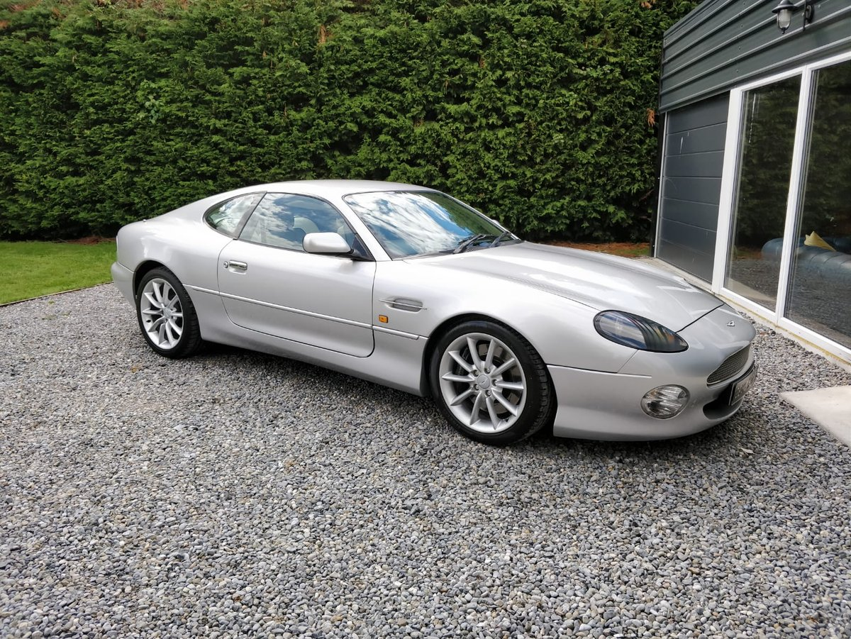 2002 Manual, UK Registered, Aston Martin, DB7 Vantage SOLD (picture 1 of 6)
