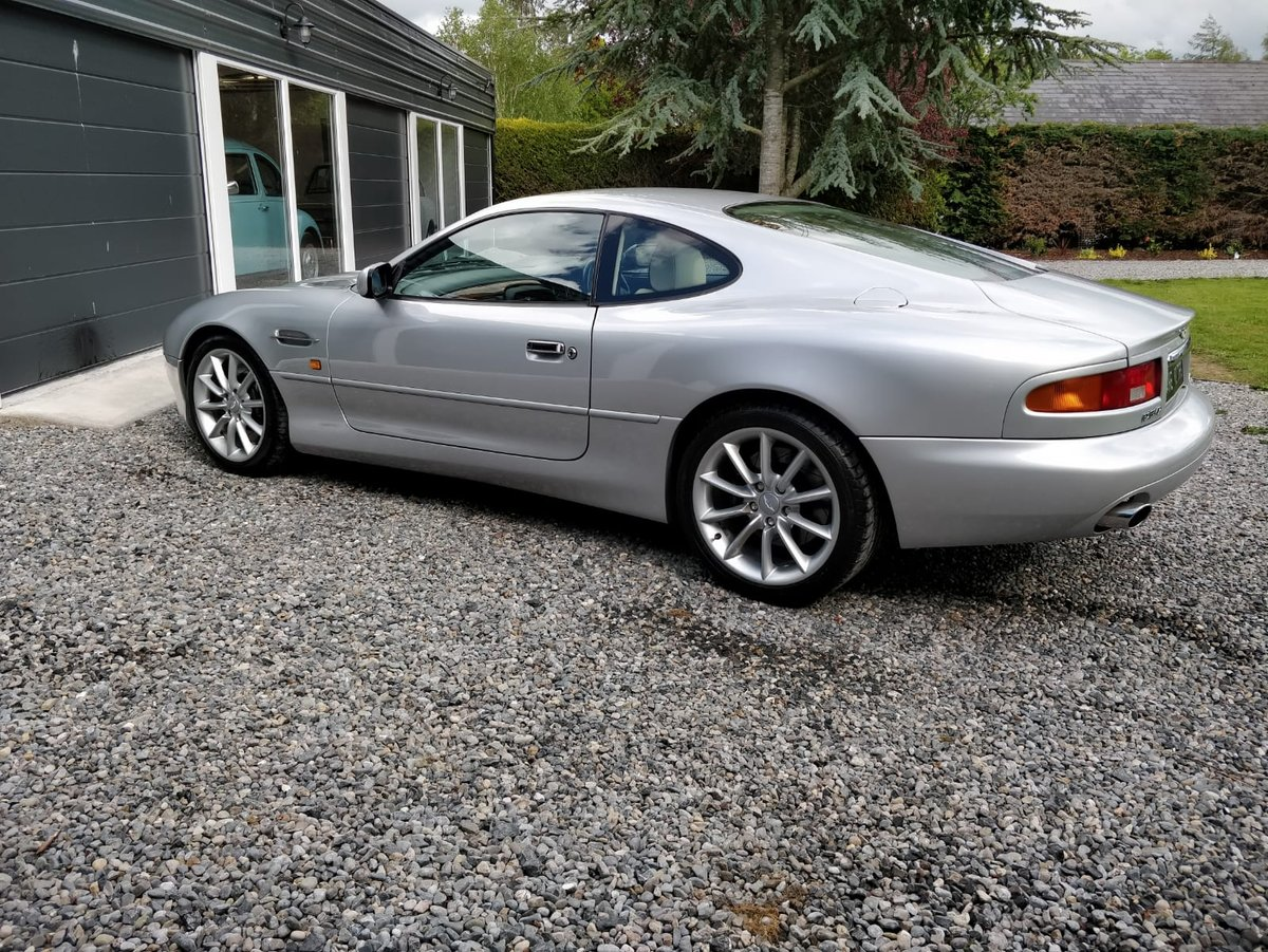 2002 Manual, UK Registered, Aston Martin, DB7 Vantage For Sale (picture 3 of 6)