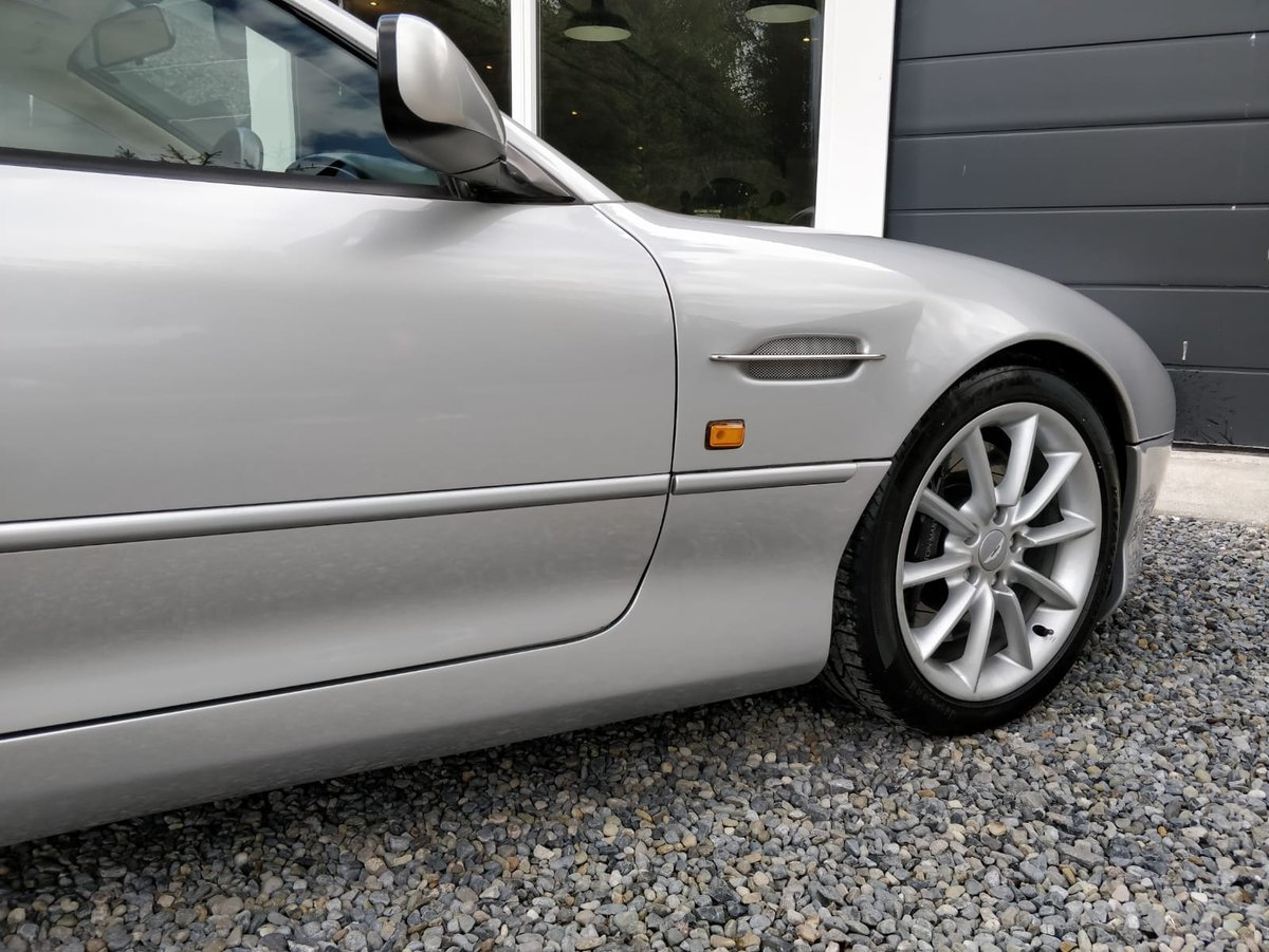 2002 Manual, UK Registered, Aston Martin, DB7 Vantage SOLD (picture 5 of 6)