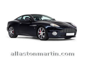 2002 Aston Martin Vanquish 2+2 - Works Manual Conversion SOLD
