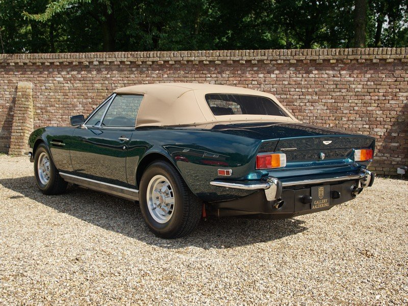 1979 Aston Martin V8 Volante Series 1 matching numbers, Weber car For Sale (picture 2 of 6)