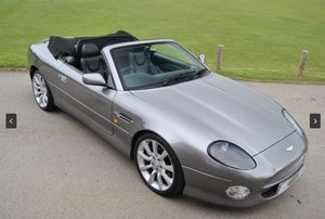 Aston Martin DB7 Vantage Volante V12 Convertibe 2003 SOLD