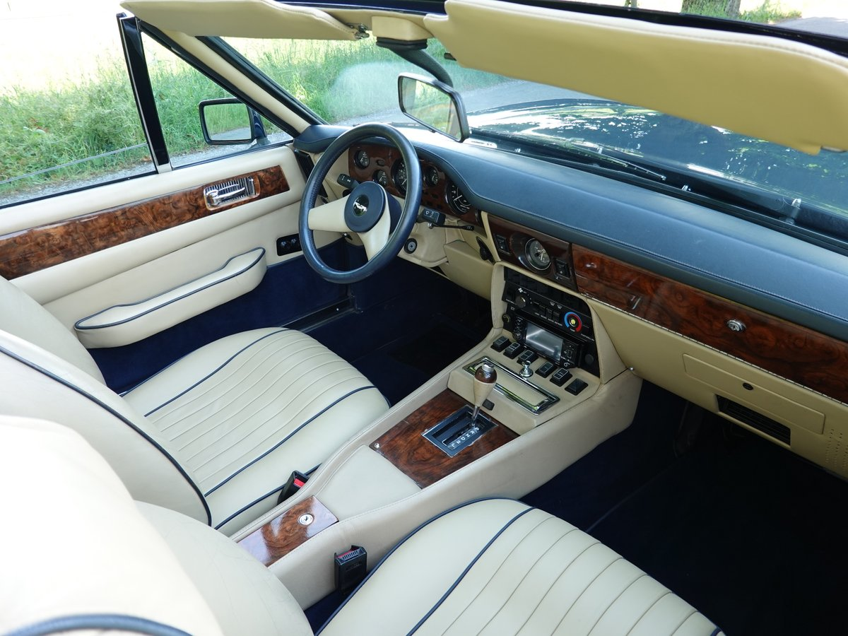 1986 Aston Martin V8 Volante, german restoration For Sale (picture 5 of 6)
