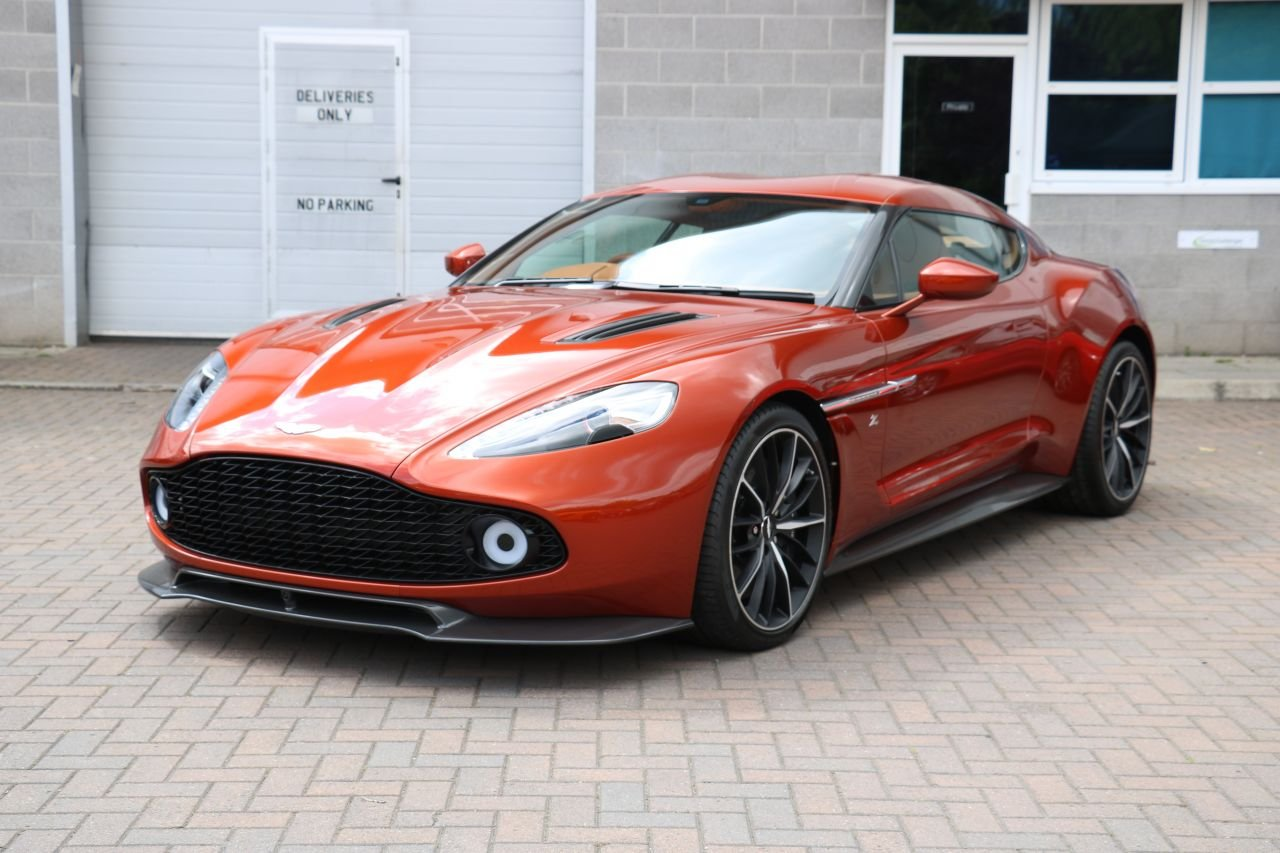2017 Aston Martin Vanquish Zagato Coupe - 59 Miles, 1 Owner! For Sale (picture 1 of 6)
