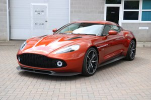 2017 Aston Martin Vanquish Zagato Coupe - 59 Miles, 1 Owner! For Sale