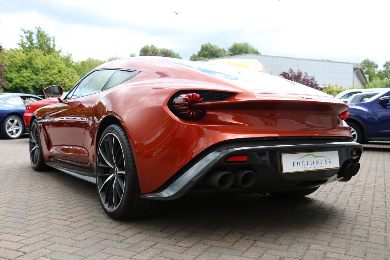 2017 Aston Martin Vanquish Zagato Coupe - 59 Miles, 1 Owner! For Sale (picture 3 of 6)