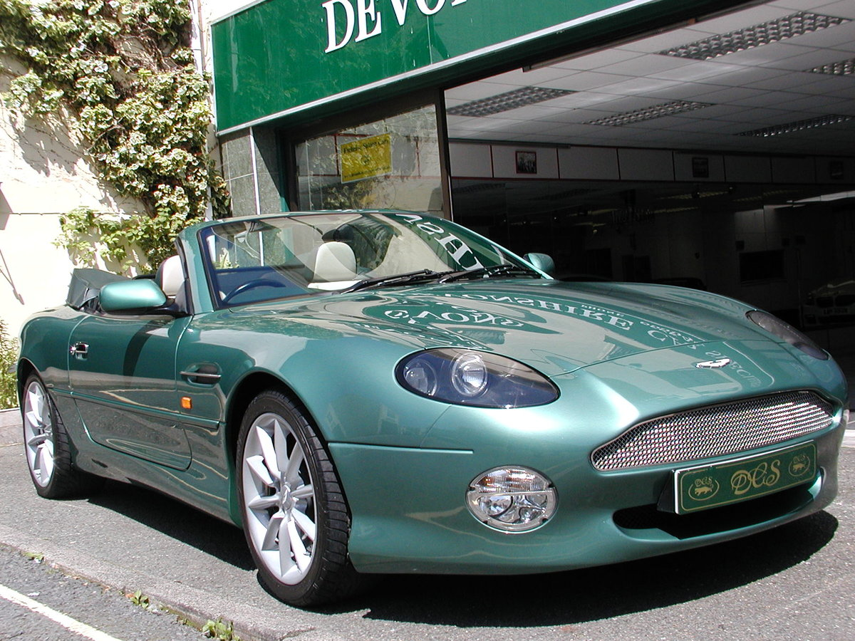 2002 ASTON MARTIN DB7 VANTAGE VOLANTE 29,000 MILES FROM NEW For Sale (picture 1 of 6)