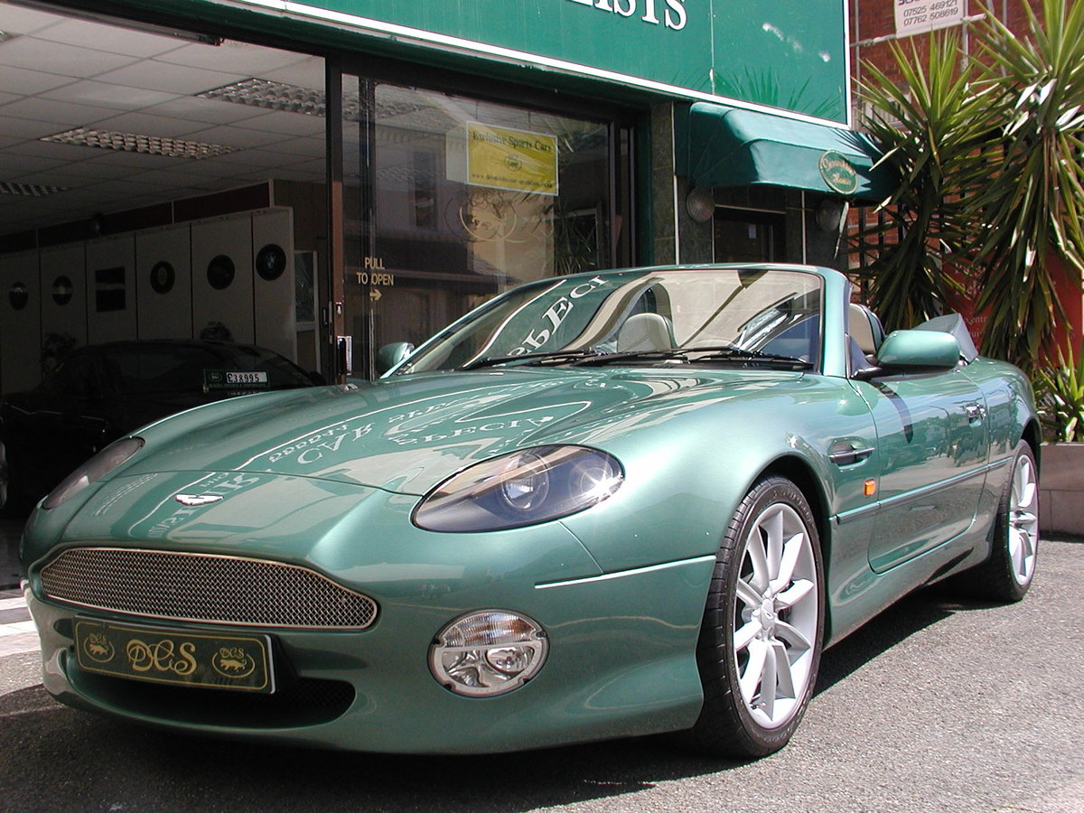 2002 ASTON MARTIN DB7 VANTAGE VOLANTE 29,000 MILES FROM NEW For Sale (picture 2 of 6)