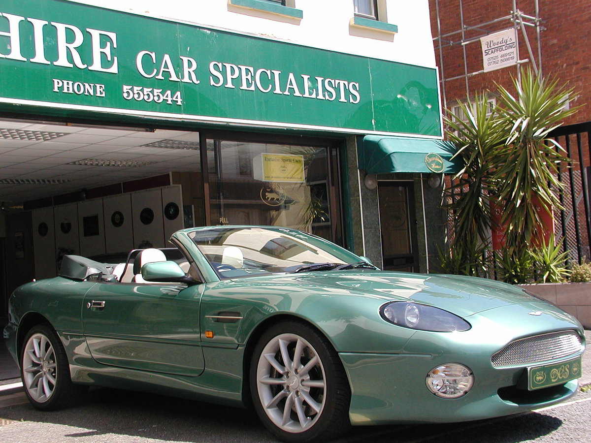 2002 ASTON MARTIN DB7 VANTAGE VOLANTE 29,000 MILES FROM NEW For Sale (picture 3 of 6)