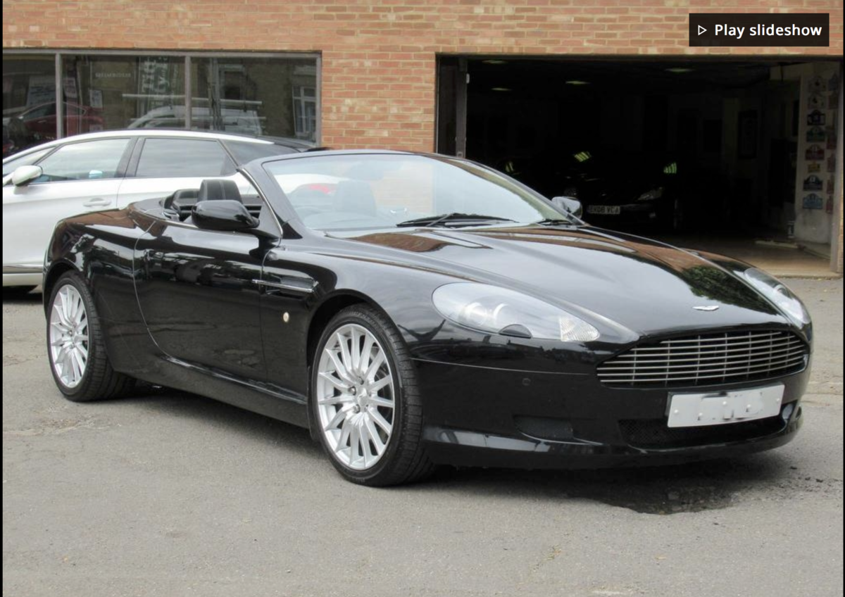 2009 DB9 Volante best colour combination REDUCED For Sale (picture 1 of 3)