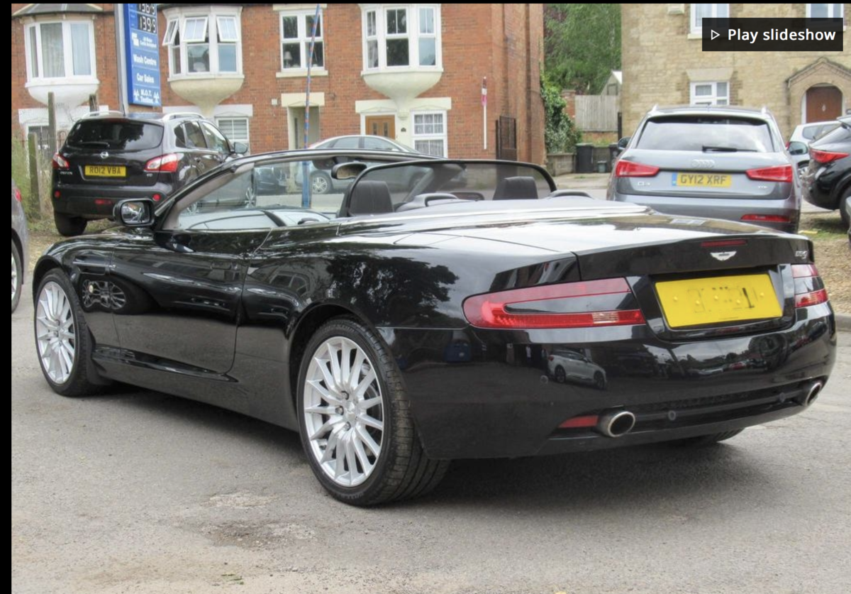 2009 DB9 Volante best colour combination REDUCED For Sale (picture 2 of 3)
