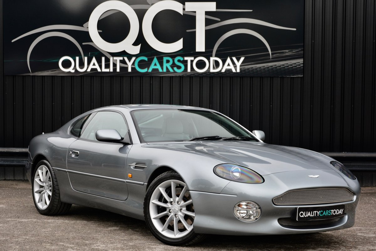 2001 Aston Martin DB7 V12 Vantage Manual SOLD (picture 1 of 6)