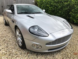 2004 Aston Martin Vanquish ONLY 5,600 miles as new immacu