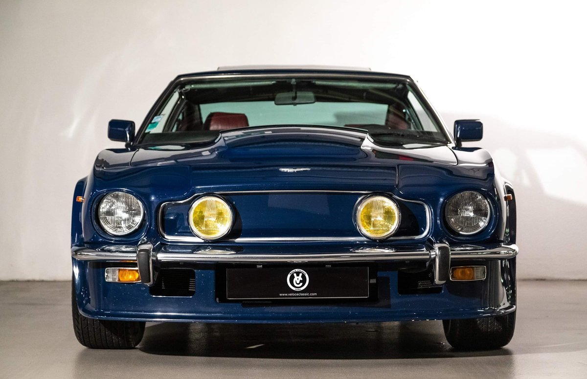 1985 Aston Martin V8 Vantage LHD  For Sale (picture 3 of 12)