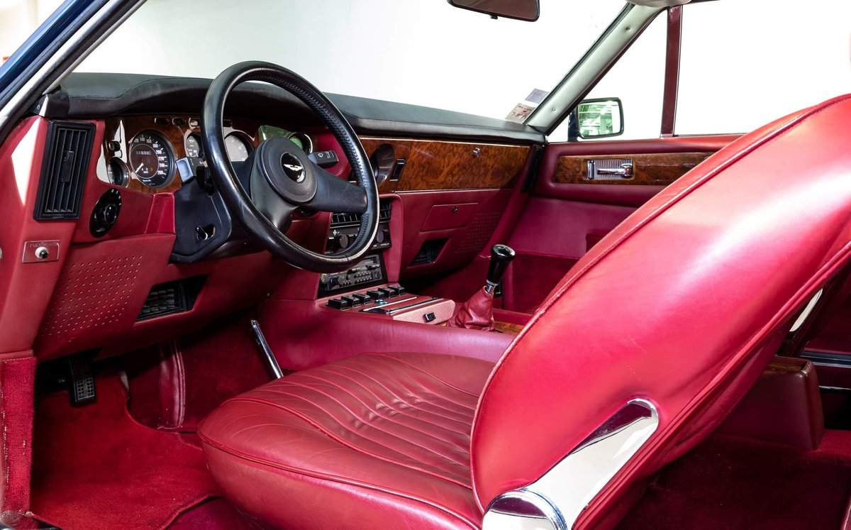 1985 Aston Martin V8 Vantage LHD  For Sale (picture 6 of 12)