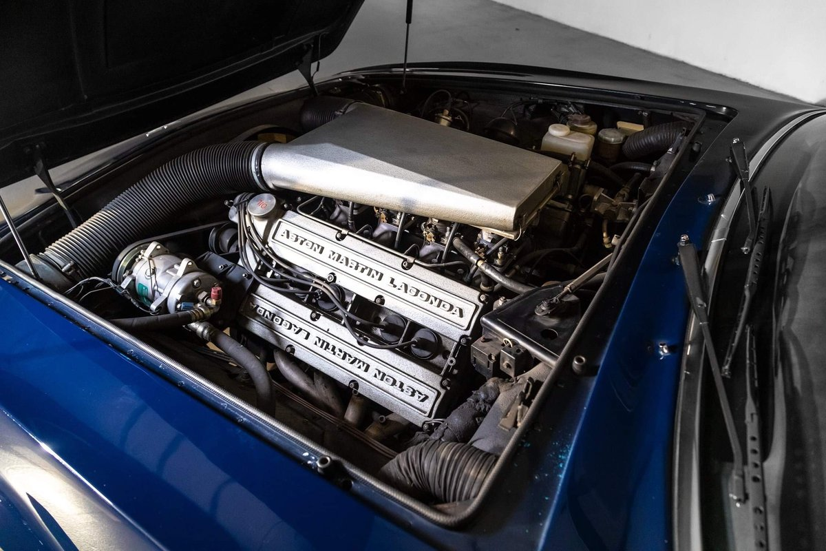 1985 Aston Martin V8 Vantage LHD  For Sale (picture 10 of 12)