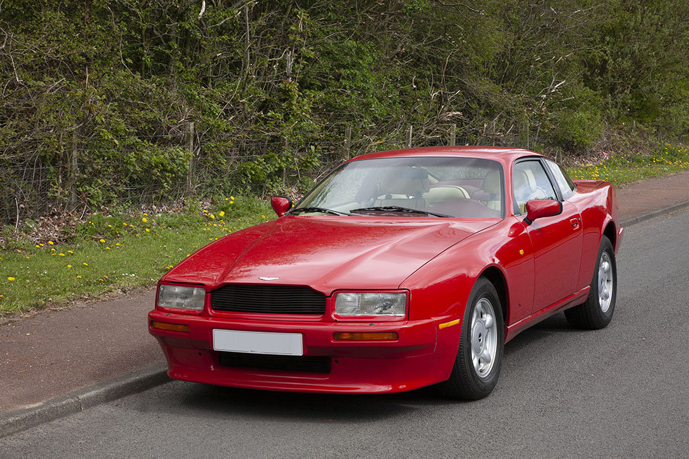 1992 ASTON MARTIN VIRAGE - RARE ORIGINAL FACTORY LHD  SOLD (picture 1 of 6)