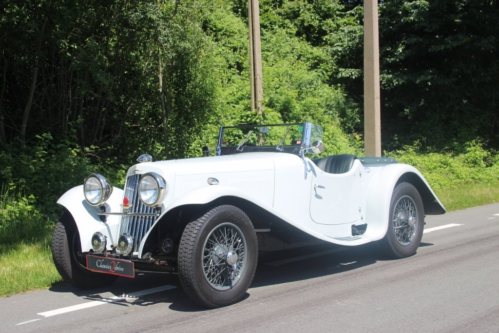 1939 Exceptional beautiful and great restored Aston Martin 15/98 For Sale (picture 1 of 6)