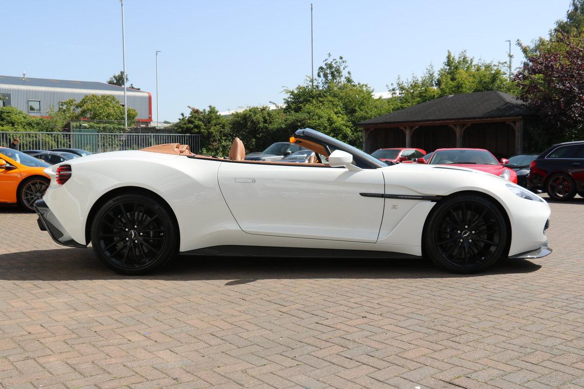 2018 Aston Martin Vanquish Zagato Volante - 91 Miles, 1 Owner! For Sale (picture 3 of 6)
