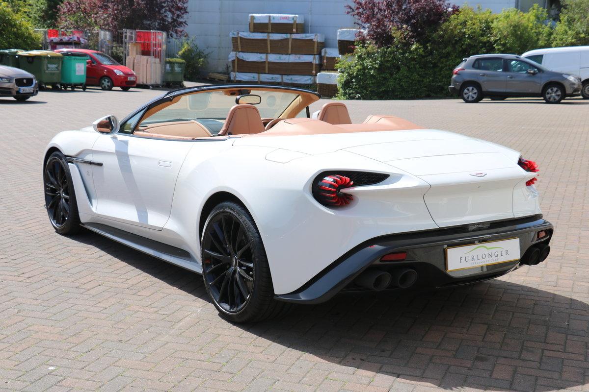 2018 Aston Martin Vanquish Zagato Volante - 91 Miles, 1 Owner! For Sale (picture 4 of 6)