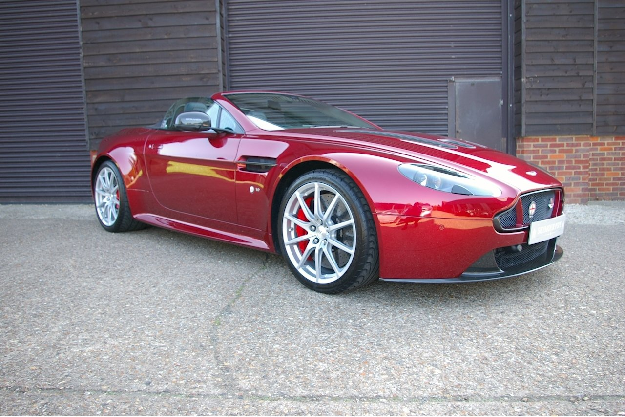2014 Aston Martin Vantage 5.9 V12 S Roadster Auto (17,785 miles) SOLD (picture 1 of 6)