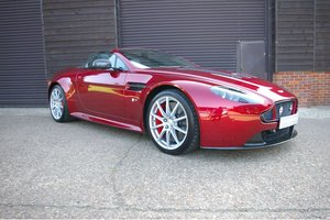 2014 Aston Martin Vantage 5.9 V12 S Roadster Auto (17,785 miles) For Sale