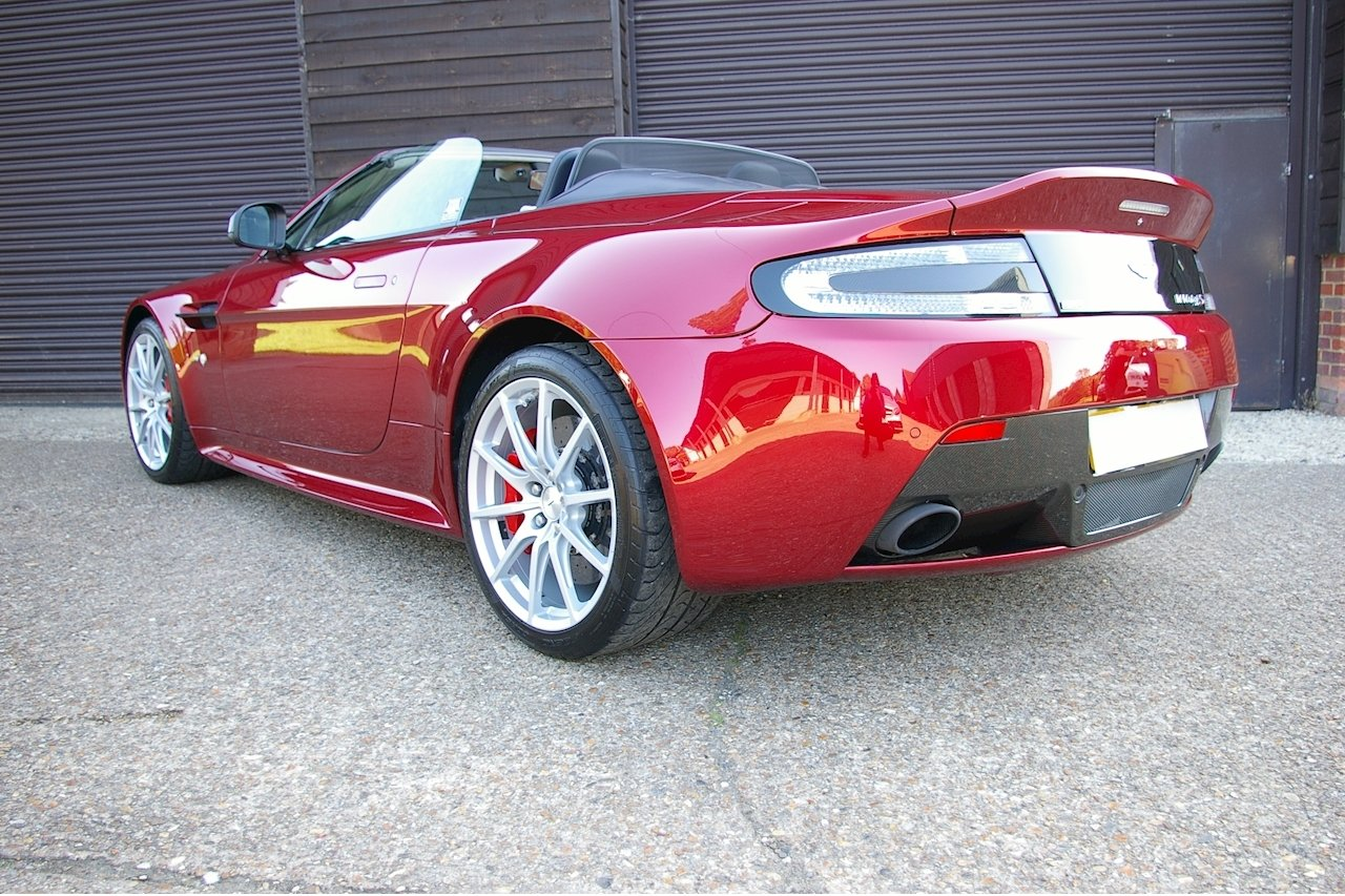 2014 Aston Martin Vantage 5.9 V12 S Roadster Auto (17,785 miles) SOLD (picture 3 of 6)