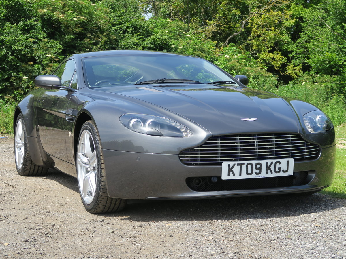 2009 Aston Martin Vantage 4.7 420 Manual  For Sale (picture 1 of 9)